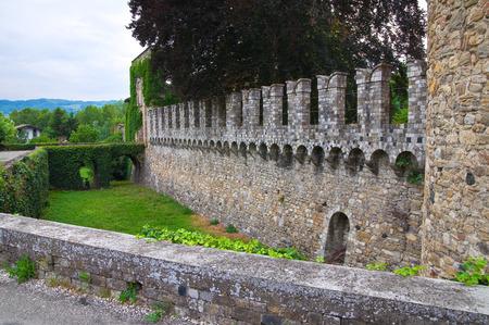 urbanistic: Castle of Riva. Ponte dellOlio. Emilia-Romagna. Italy.