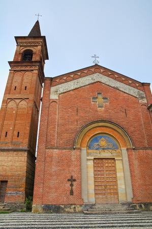 martino: Church of St. Martino. Riva. Emilia-Romagna. Italy.
