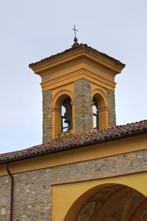 madonna: Madonna della Neve Church. Riva. Emilia-Romagna. Italy.
