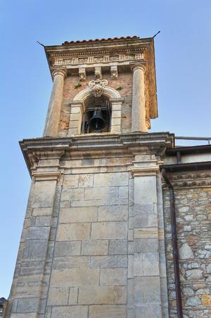 carmine: Chiesa del Carmine. Bovino. Puglia. Italia. Archivio Fotografico