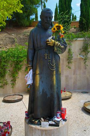 rotondo: Sanctuary of San Giovanni Rotondo. Italy. Stock Photo