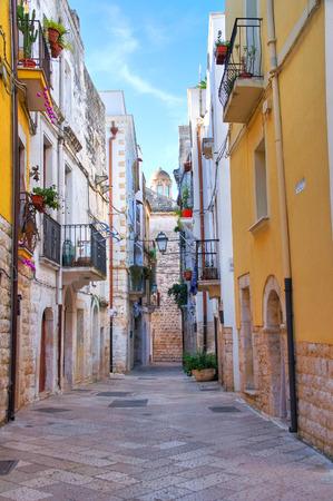 rooftile: Alleyway. Rutigliano. Puglia. Italy.