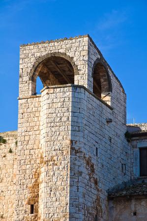 conversano: Castle of Conversano. Puglia. Italy.