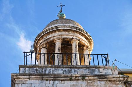 rooftile: Clocktower. Conversano. Puglia. Italy.