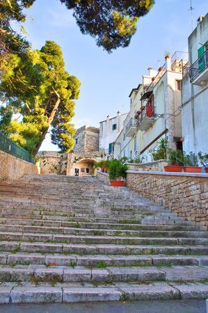 rooftile: Alleyway. Conversano. Puglia. Italy.