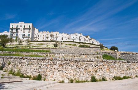 Panoramic view of Locorotondo. Puglia. Italy. photo