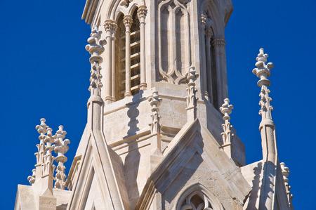 calvary: Calvary Church. Molfetta. Puglia. Italy. Editorial