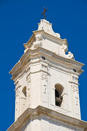 urbanistic: Church of St. Pietro. Molfetta. Puglia. Italy.