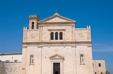 martiri: Madonna dei Martiri Church. Molfetta. Puglia. Italy.