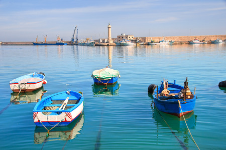 urbanistic: Panoramic view of Molfetta. Puglia. Italy.