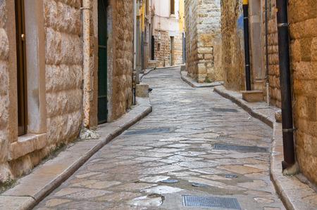 puglia: Alleyway. Andria. Puglia. italy. Stock Photo