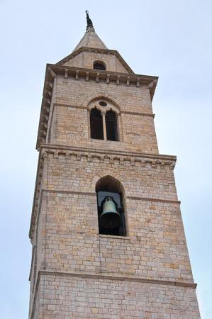 architectural architectonic: Duomo Church of Andria. Puglia. Italy. Stock Photo