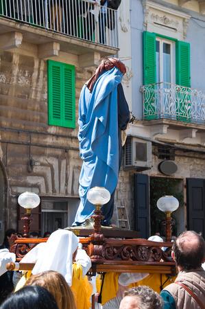 procession: Holy procession. Molfetta. Puglia. italy.