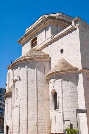 rooftile: Basilica Church of St. Sepolcro. Barletta. Puglia. Italy.