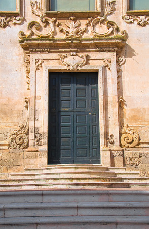 francesco: Church of St. Francesco. Matera. Basilicata. Italy. Stock Photo