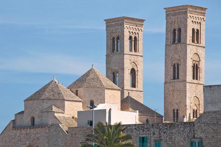rooftile: Duomo Church of Molfetta. Puglia. Italy.