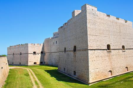 donjon: Castle of Barletta. Puglia. Italy. Stock Photo