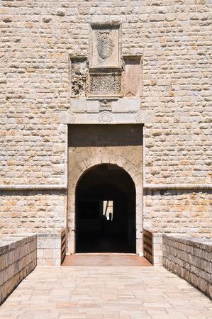 architectural architectonic: Castle of Barletta. Puglia. Italy. Stock Photo