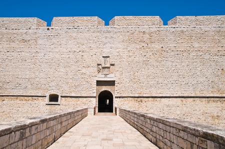 bulwark: Castle of Barletta. Puglia. Italy. Stock Photo