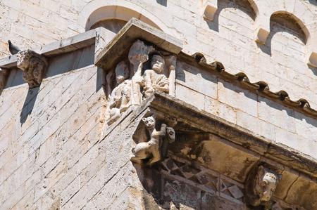 urbanistic: Cathedral church of Barletta. Puglia. Italy.