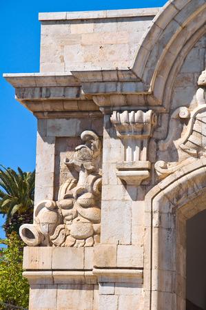 mare: Porta Mare. Barletta. Puglia. Italy.