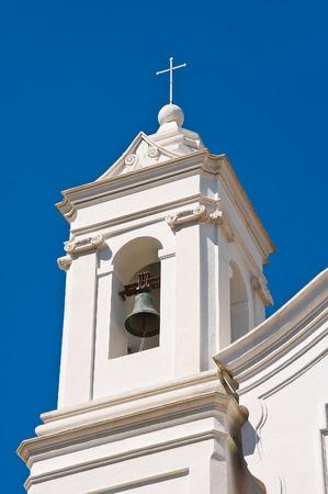 urbanistic: Church of St. Giuseppe. Barletta. Puglia. Italy.