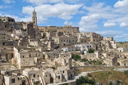 lucania: Panoramic view of Matera. Basilicata. Italy.