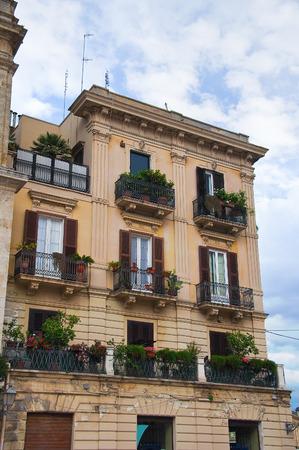 bari: Historical palace. Bari. Puglia. Italy.