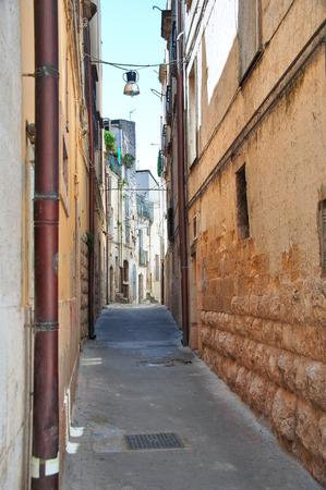 rooftile: Alleyway. Altamura. Puglia. Italy.