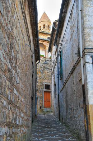 foggia: Alleyway. Bovino. Puglia. Italy. Stock Photo