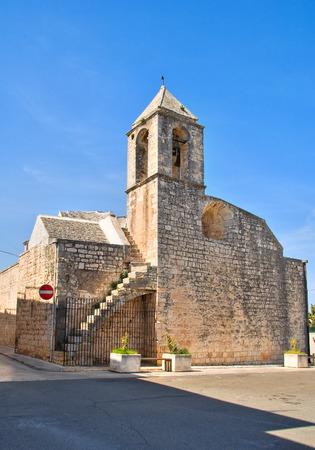madonna: Madonna della Greca Church. Locorotondo. Puglia. Italy.