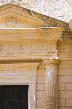 lucania: Historical church. Matera. Basilicata. Italy.