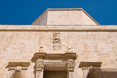 architectural architectonic: Duomo Church. Molfetta. Puglia. Italy. Stock Photo