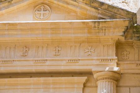 matera: Historical church. Matera. Basilicata. Italy.