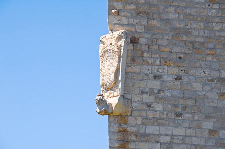 architectural architectonic: Castle of Barletta. Puglia. Italy. Editorial