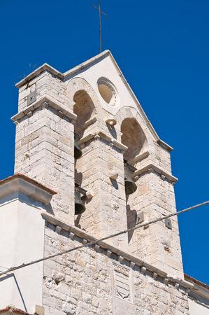 architectural architectonic: Church of Carmine. Barletta. Puglia. Italy. Stock Photo