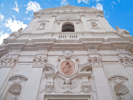 Carmine Church. Martina Franca. Italy.