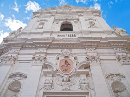 carmine: Carmine Church. Martina Franca. Italy.