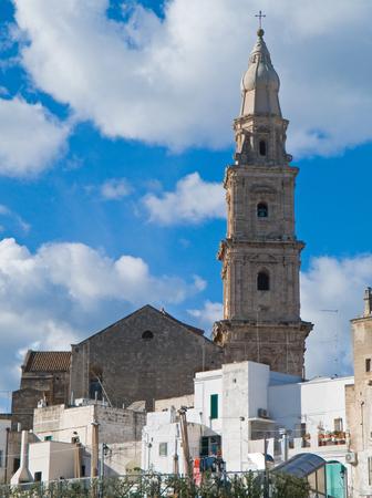 monopolies: Panoramic view of Monopoli. Puglia. Italy.