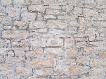 down beat: Brickwall background. Stock Photo