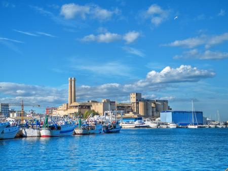 monopolies: Monopoli seaport landscape. Apulia. Italy.