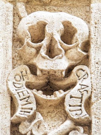 monopolies: Purgatory church. Monopoli. Apulia. Italy. Editorial