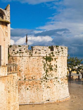 Castle of Charles V. Conversano. Apulia. Italy.