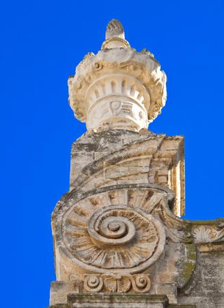 monopolies: Monopoli Cathedral. Apulia. Italy. Stock Photo
