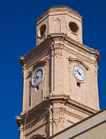 st  francis: St. Francis of Assisi church. Monopoli. Apulia.