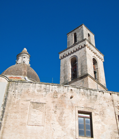monopolies: Church of St. Vincent. Monopoli. Italy.