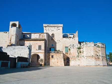 resides: This is the Aragonese castle of Conversano in Apulia.