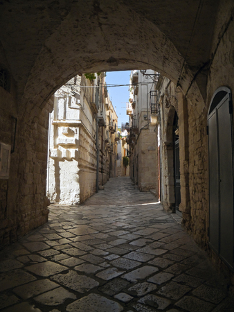 characteristic: This is a characteristic alley of Giovinazzo. Apulia.