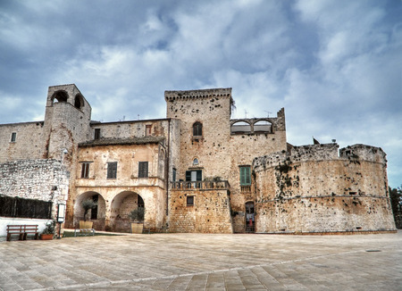 conversano: This is a view of Conversano Castle in Apulia.