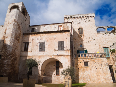 conversano: This is the Aragonese Conversano Castle in Apulia.